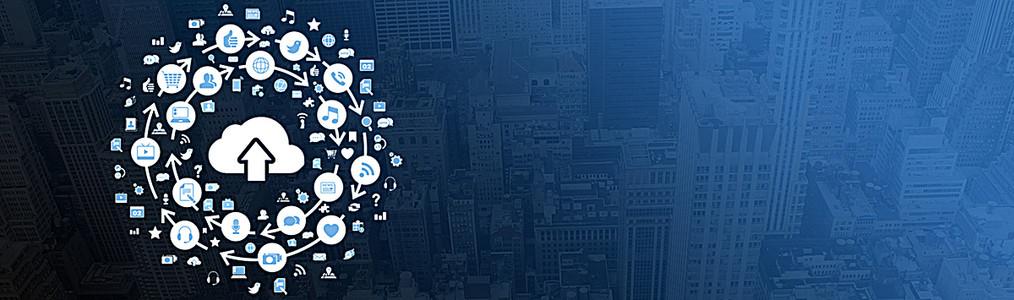 大数据互联网科技背景图