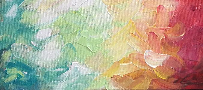 油画涂料背景