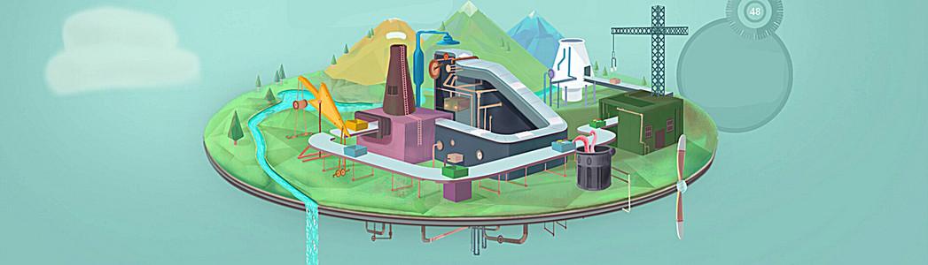 工厂背景图