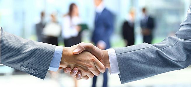 商务合作背景