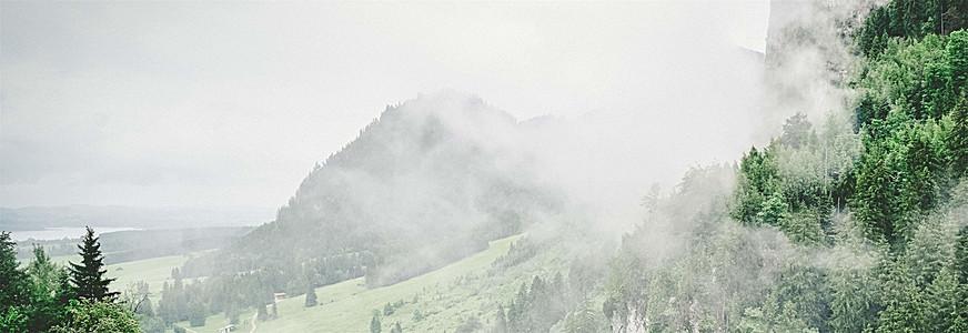 山林自然风光简约背景
