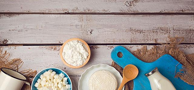 牛奶奶酪素材图片