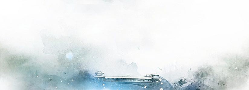 中国风水墨简洁banner
