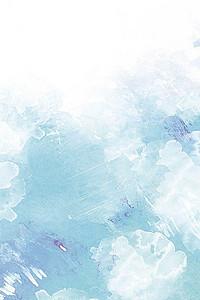 简约蓝色背景