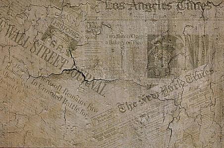 破旧报纸背景素材