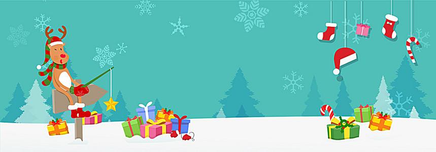 卡通圣诞背景