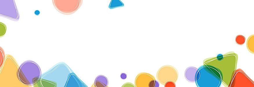 彩色图形图案背景
