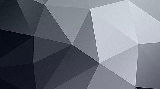 立体灰三角的高清背景图