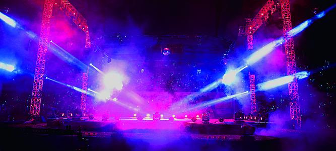舞台灯光效果背景图
