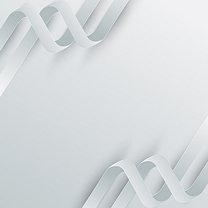 白色抽象线条简约科技背景素材