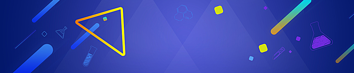 蓝色扁平淘宝背景