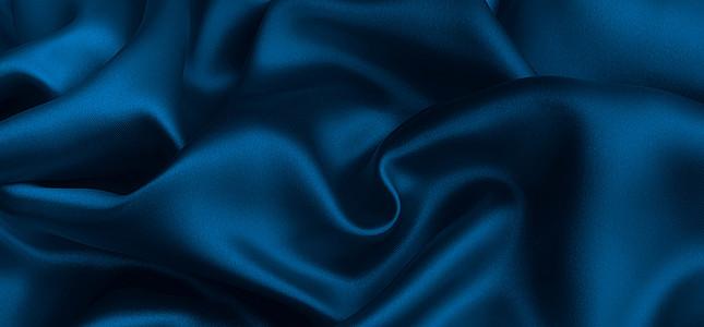 珠宝大气蓝色丝绸淘宝海报背景