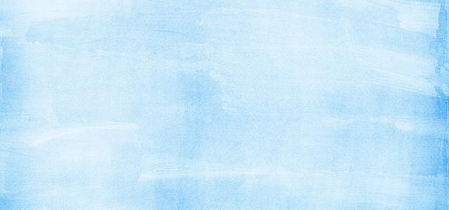 淘宝文艺清新淡蓝色化妆品背景海报