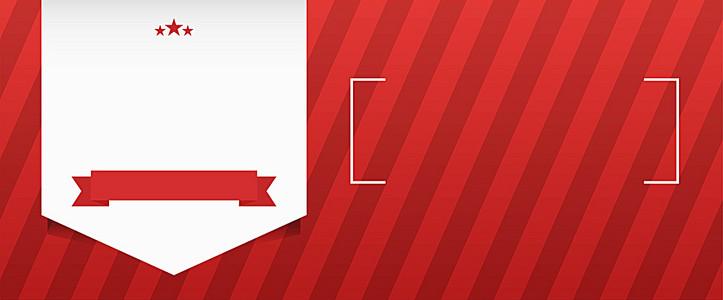 红色条纹促销banner背景