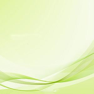 现代背景绿色波浪