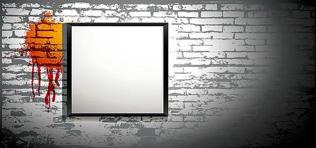 淘宝纹理质感灰黑商业海报背景