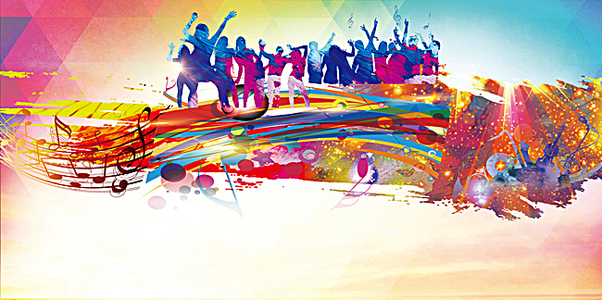 舞动青春校园舞蹈大赛宣传海报设计素材