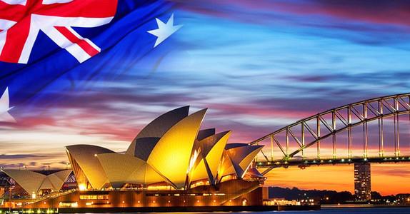 澳新12日亲近自然之旅海报背景素材