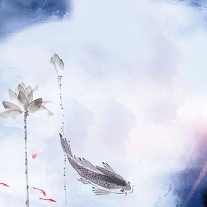 水墨中国风主图背景