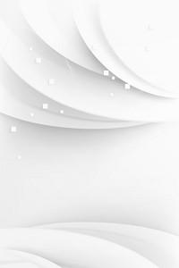 白灰色抽象几何图形曲线背景