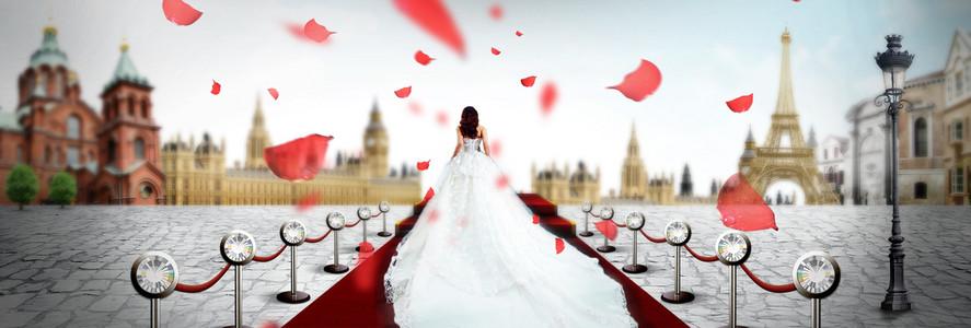 结婚婚庆婚礼背景