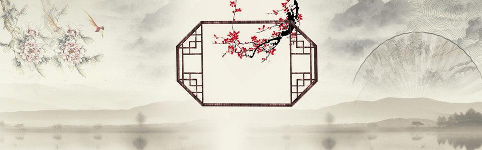 古风古色中国风背景