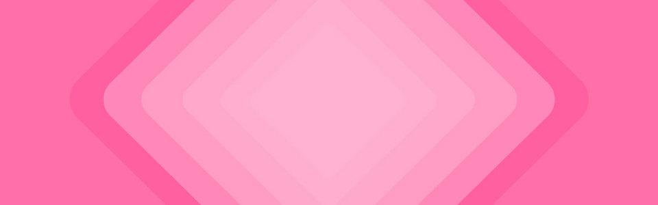 粉色线条几何扁平渐变banner