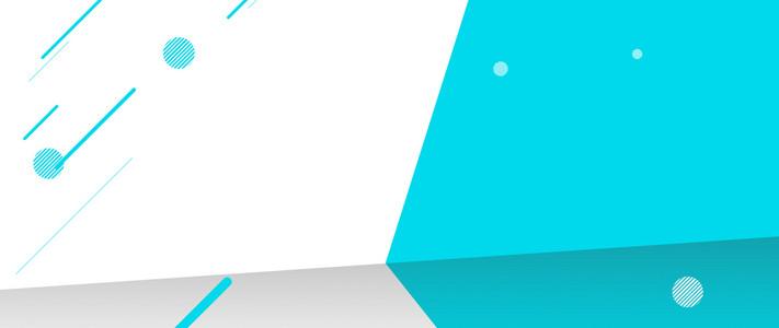 几何图形不规则线条PSD分层banner