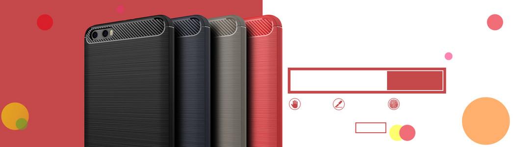 电商红色背景手机促销活动