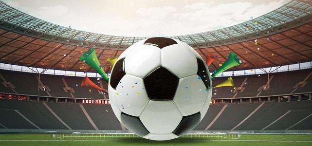 世界杯足球比赛展板