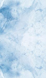 蓝色水彩渲染简洁插图