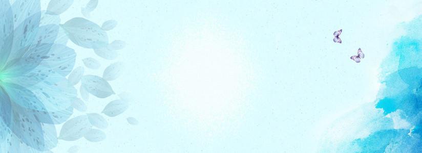 banner简约背景