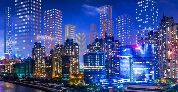 高楼大厦商务科技风