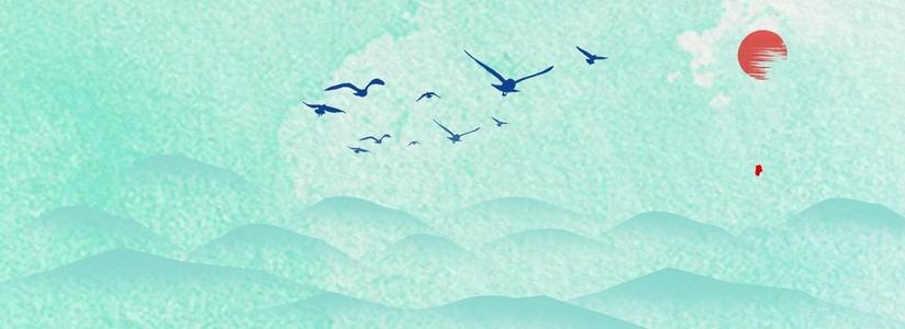 中国风节日海报背景图