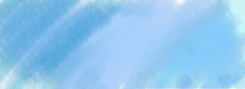 水彩质感渐变banner背景