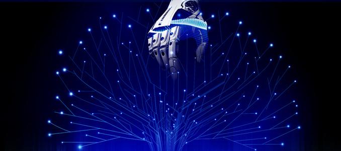 大气机器人人工智能科技banner