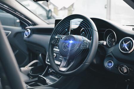 现代科技潮流汽车