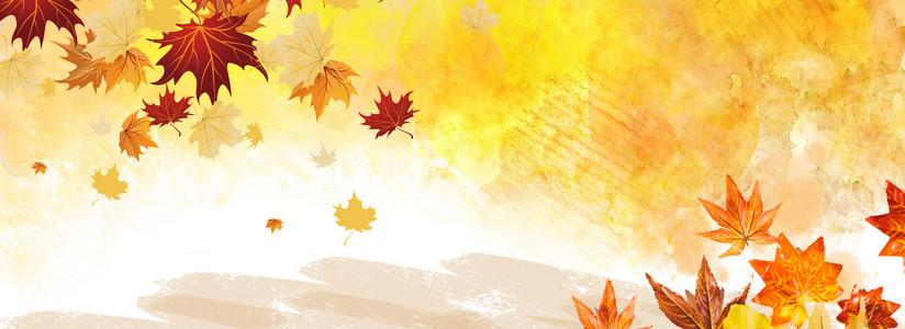秋分二十四气节简约海报