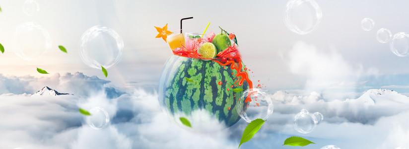 食品饮料创意合成