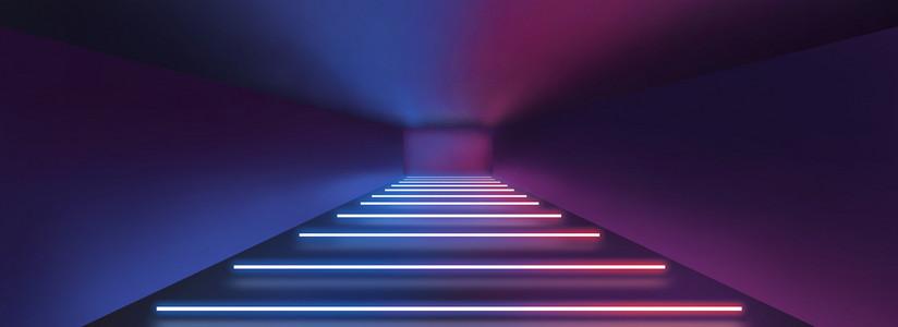霓虹灯空间感灯光