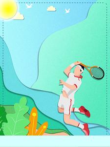 羽毛球比赛体育运动会