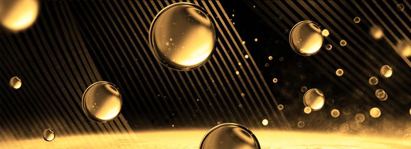 创意合成质感泡泡背景