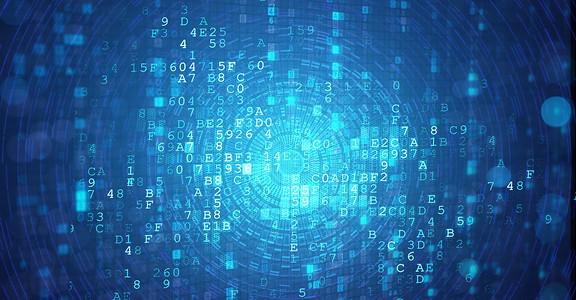 数据代码科技炫酷场景