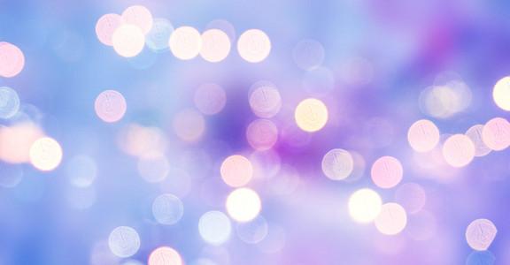 彩色光斑粒子背景