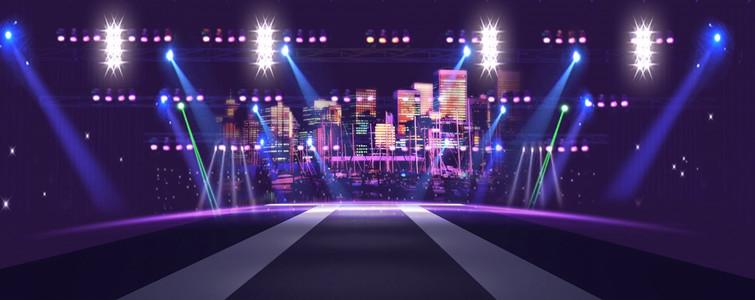 舞台灯光背景下载素材