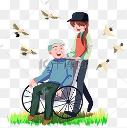 帮助敬老院老人图片_轮椅老人图片-轮椅老人素材图片-轮椅老人素材图片免费下载-千 ...