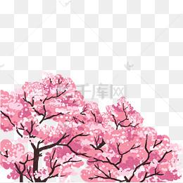 桃花树免抠_花树图片-花树素材图片-花树素材图片免费下载-千库网png-第3页