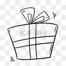 礼盒简笔画图片 礼盒简笔画素材图片 礼盒简笔画素材图片免费下载 千库网png
