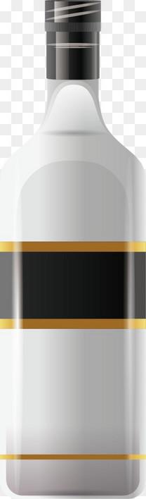 卡通精美酒酒瓶