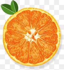 高清水嫩橙子横切图